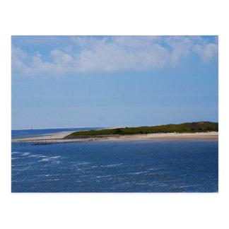 Postal Costa costa de Texel