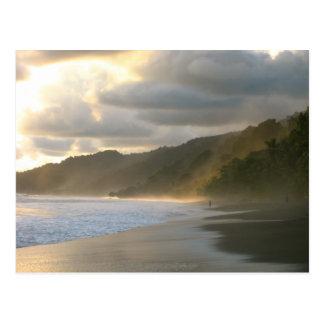 Postal Costa costa del parque nacional de Cocovado