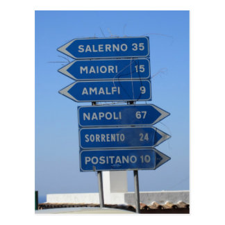 Postal Costa de Amalfi