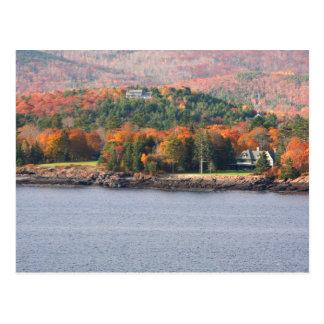 Postal costera de Maine