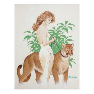 Postal Cougar PinUp