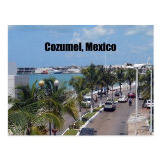 Postal Cozumel, México