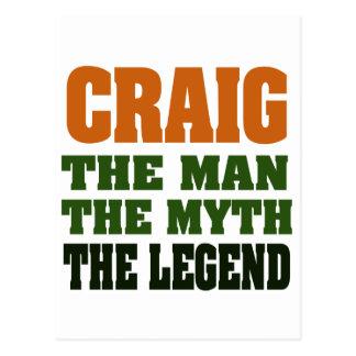 Postal Craig - el hombre, el mito, la leyenda