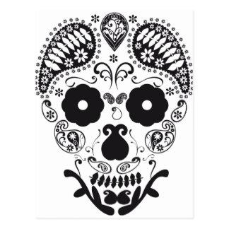 Postal Cráneo decorativo