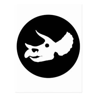 Postal Cráneo del Triceratops