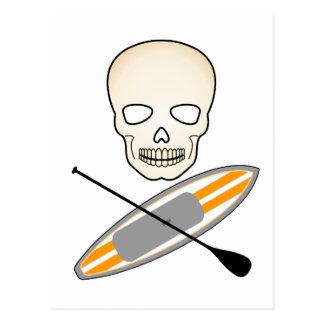 Postal Cráneo y Paddleboard
