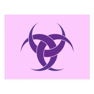Postal Crecientes de la púrpura 3