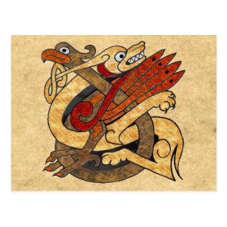 Postal Criaturas célticas