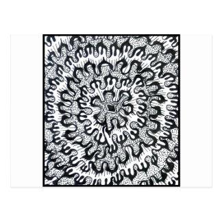 Postal Crisantemo
