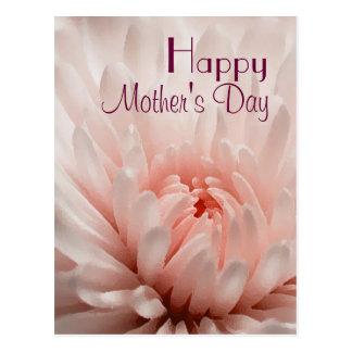 Postal Crisantemo - el día de madre feliz modificado para