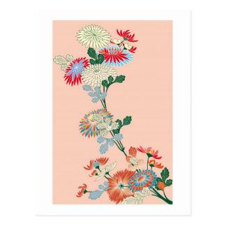 Postal Crisantemo japonés