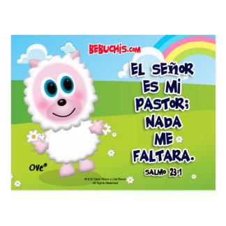 Postal Cristiana - Salmo 23