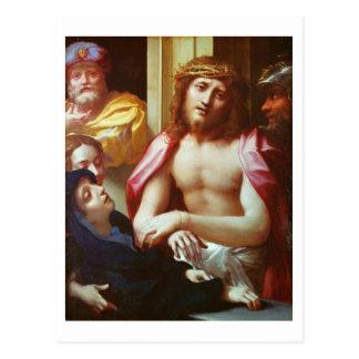 Postal Cristo presentó a la gente (el homo de Ecce)