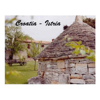 Postal Croacia - Istria