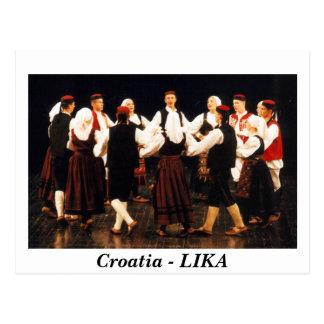 Postal Croacia - LIKA