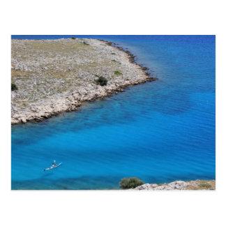 Postal Croacia - mar adriático