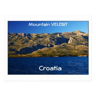 Postal Croacia - montaña Velebit
