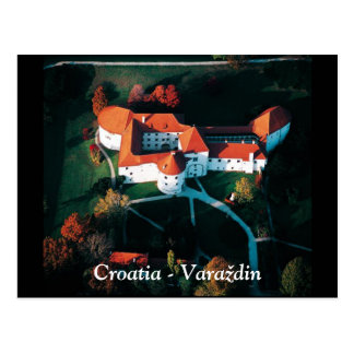 Postal Croacia - Varaždin
