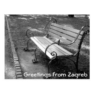 Postal Croacia - Zagreb