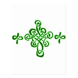 Postal Cruces célticas