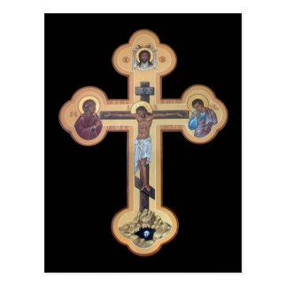 Postal Crucifixión del señor