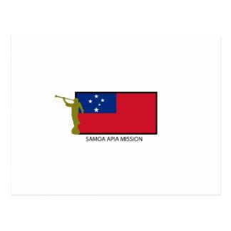 POSTAL CTR DE LA MISIÓN LDS DE SAMOA APIA