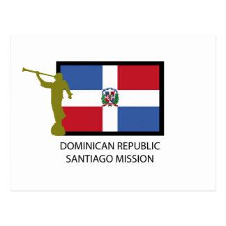 POSTAL CTR DE LA MISIÓN LDS DE SANTIAGO DE LA REPÚBLICA