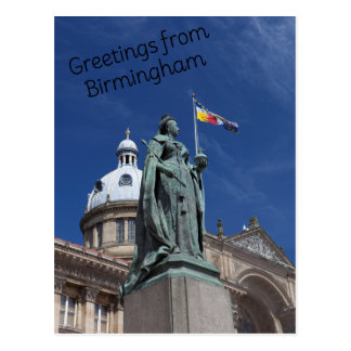 Postal cuadrada de Victoria Birmingham