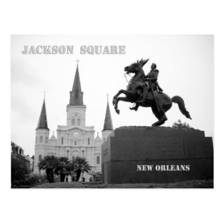 Postal Cuadrado de Jackson, New Orleans
