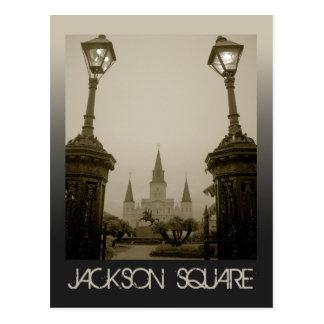 Postal Cuadrado de Jackson, New Orleans, LA