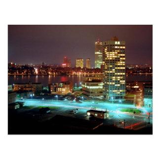 Postal Cuadrado y Boston Skyline, 1967 de Kendall
