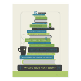 Postal ¿Cuál es su libro siguiente?