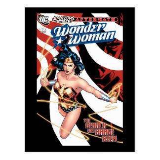 Postal Cubierta cómica #12 de la Mujer Maravilla