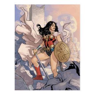 Postal Cubierta cómica #13 de la Mujer Maravilla