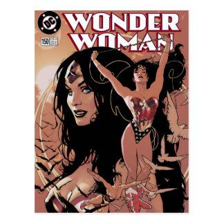 Postal Cubierta cómica #150 de la Mujer Maravilla: