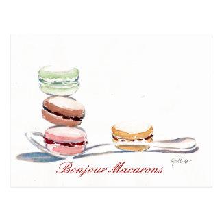 Postal Cucharada de Macarons