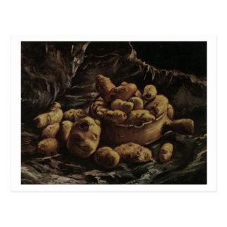 Postal Cuenco y patatas de tierra, Vincent van Gogh