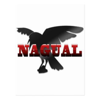 Postal Cuervo del cuervo de Nagual