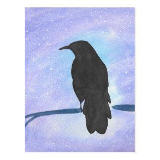 Postal Cuervo Stargazing