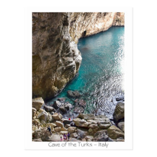 Postal Cueva de los turcos - Italia
