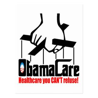 Postal Cuidado de Obama: ¡Atención sanitaria que usted no