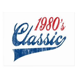 Postal cumpleaños de la obra clásica de los años 80