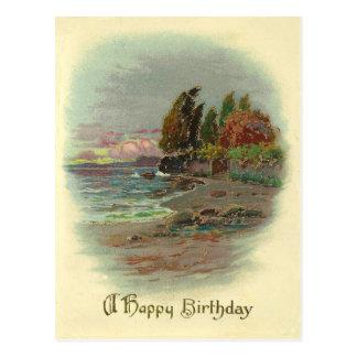 Postal Cumpleaños del vintage