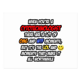 Postal Cytotechnologist. OMG WTF LOL