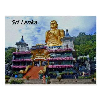 Postal dambulla-cueva-templo-sri-lanka Angie