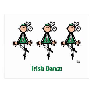 Postal Danza del irlandés