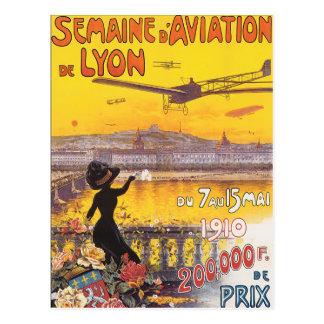 Postal d'Aviation de Lyon de Semaine