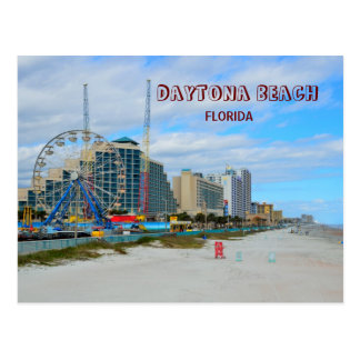 Postal Daytona Beach famosa la Florida