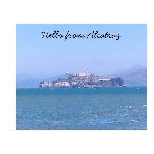 Postal de Alcatraz