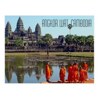 Postal de Angkor Wat Camboya